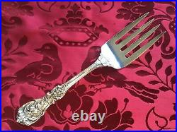 Rarest Francis I by Reed & Barton Old Sterling Silver Cold Meat Fork 4-Tine 9