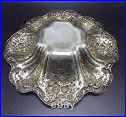 Reed & Barton Antique Sterling Silver Francis 1st X569 Bowl Dish 303 Grams