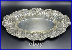 Reed & Barton Antique Sterling Silver Francis I X568 Bread Tray Dish 447 Grams