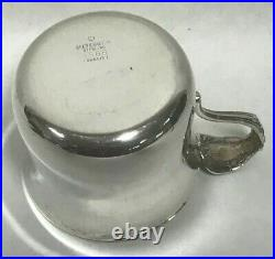Reed & Barton FRANCIS 1 Sterling Silver Baby Cup with Gold Wash X568-Nice