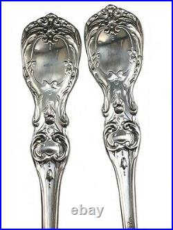 Reed & Barton Francis 1 Sterling Large Spoons Set Of 6