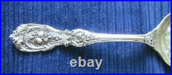 Reed & Barton Francis 1st Preserve Spoon 6 1/4 MINT! Old withEarly Marks