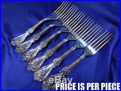 Reed & Barton Francis 1st Sterling Silver Dinner Fork Old Mark Excellent T