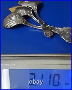 Reed & Barton Francis 1st Sterling Silver Jelly Sugar BonBon Nut Spoons