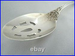 Reed & Barton Francis 1st Sterling Silver Pierced Vegetable Serving Spoon Old Mk