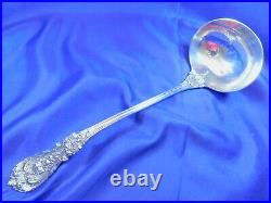 Reed & Barton Francis 1st Sterling Silver Soup Ladle Large No Spout Old Mark Vg