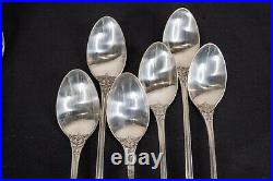 Reed & Barton Francis I 1 Sterling Silver Iced Tea Spoons 7 5/8 Set of 12