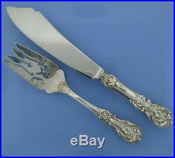 Reed & Barton Francis I 89pcs Silverware 6-Pc Lunch Size Setting Service for 12