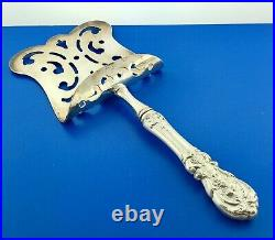 Reed Barton Francis I 925 Sterling Silver Handle Large Hooded Asparagus Server