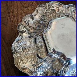 Reed & Barton Francis I Bon Bon X569 Sterling Silver Bowl Saturn Mark 1949 648g
