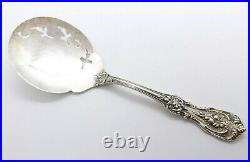 Reed & Barton Francis I Solid Sterling Silver Pierced Tomato Server, 8