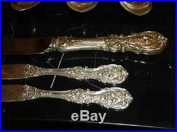 Reed & Barton Francis I Sterling 17 Pieces Sterling Silver 581 Grams