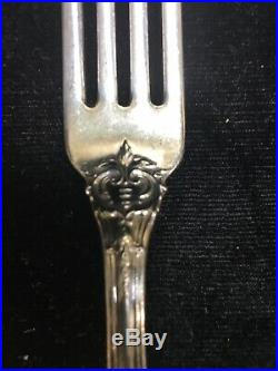 Reed & Barton Francis I Sterling 4 Piece Place Setting 7.125 Fork 9.125 Knife