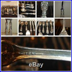 Reed & Barton Francis I (Sterling, Eagle-R-Lion) 12 5-Piece Place Dinner Setting