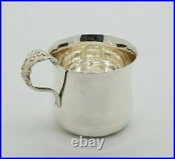 Reed & Barton Francis I Sterling Silver 925 Baby Cup NO Mono