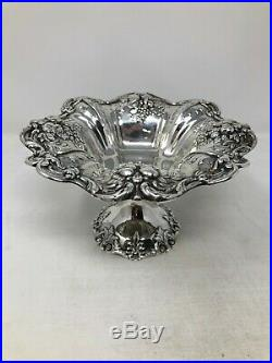 Reed & Barton Francis I Sterling Silver Medium Compote 8 No Mono
