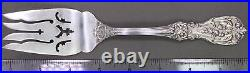 Reed & Barton Francis I Sterling Silver Monogrammed Meat Serving Fork, Post-1950