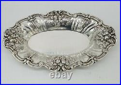 Reed & Barton Francis I Sterling Silver Oval Serving Dish X568