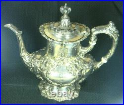 Reed & Barton Francis IST Sterling Coffee Pot #570 10 1/4 NICE