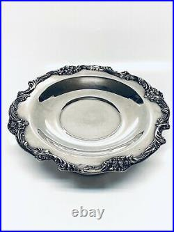 Reed Barton King Francis PatternSilver Plate 12 Cake Plate Stand