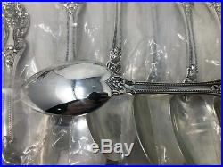 Reed & Barton King Francis Silverplate Flatware Set 48 Pieces 8 Place Settings
