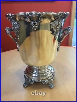 Reed & Barton King Francis Silverplate Wine Cooler