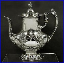 Reed & Barton Sterling Coffee Pot 1951 FRANCIS I