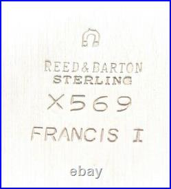 Reed & Barton Sterling Francis I X569 Bowl 8