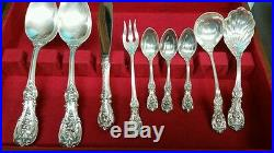 Reed & Barton Sterling Silver Flatware Francis I 115pcs. New Never Used 6295 gr