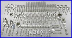 Reed & Barton Sterling Silver Flatware Service For Twelve Francis 1st Pattern