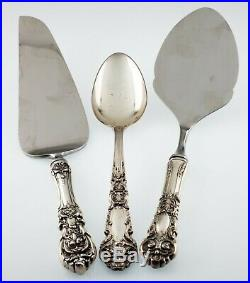 Reed & Barton Sterling Silver Flatware Set in Francis I Pattern 78 Pieces