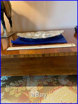 Reed & Barton Sterling Silver Francis I Bread Tray # 568