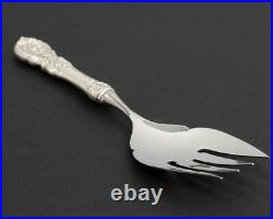 Reed & Barton Sterling Silver Francis I Large Cold Meat Fish Serving Fork 8.75
