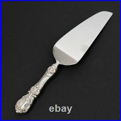 Reed & Barton Sterling Silver Francis I Pie & Cake Server Serrated 10.25