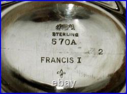 Reed & Barton Sterling Sugar Bowl Francis I