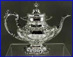 Reed & Barton Sterling Tea Set 1930 Francis I