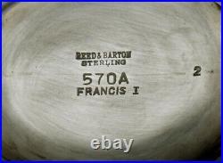 Reed & Barton Sterling Teapot Francis I No Mono