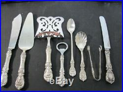 Reed and Barton Francis 1st Sterling Silver Flatware Set with 141 pcs