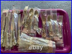 Reed & barton francis i sterling Silver Flatware Set 24 Pieces Serves 6 NEW