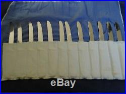 Set Of 12 Sterling Handles 9 Dessert Knives By Reed & Barton Francis I Pattern