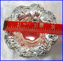 Set Of 4 Sterling Silver Reed & Barton FRANCIS I Nut / Candy Dishes No Monogram