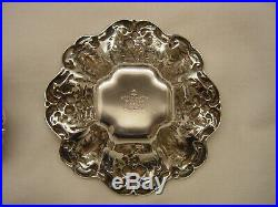 Set Of 4 Sterling Silver Reed & Barton FRANCIS I Nut Dishes No Monogram