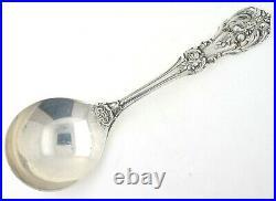 Set of 12 Francis I Reed & Barton Sterling Silver Soup Spoons No mono