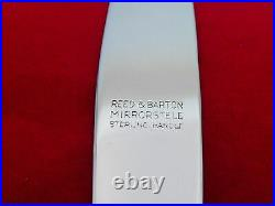 Set of 8 Reed & Barton Sterling Silver Francis I Place Knives LR-15