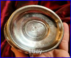 St Francis Hotel San Francisco CA Silver 7 Handled Pitcher by Reed & Barton