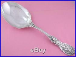 Sterling REED & BARTON Salad Berry Serving Spoon FRANCIS I old mark with pat date
