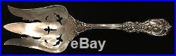 Sterling Silver Flatware Reed & Barton Francis I Salad Serving Fork Pierced