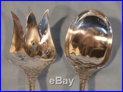 Superb Reed & Barton Sterling Silver Francis 1st Salad Serve Set Fork & Spoon