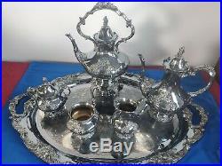 Vintage KING FRANCIS Coffee & Tea Pot Reed & Barton Silverplate