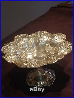 Vintage Reed & Barton sterling silver FRANCIS I footed compote X568 NR
